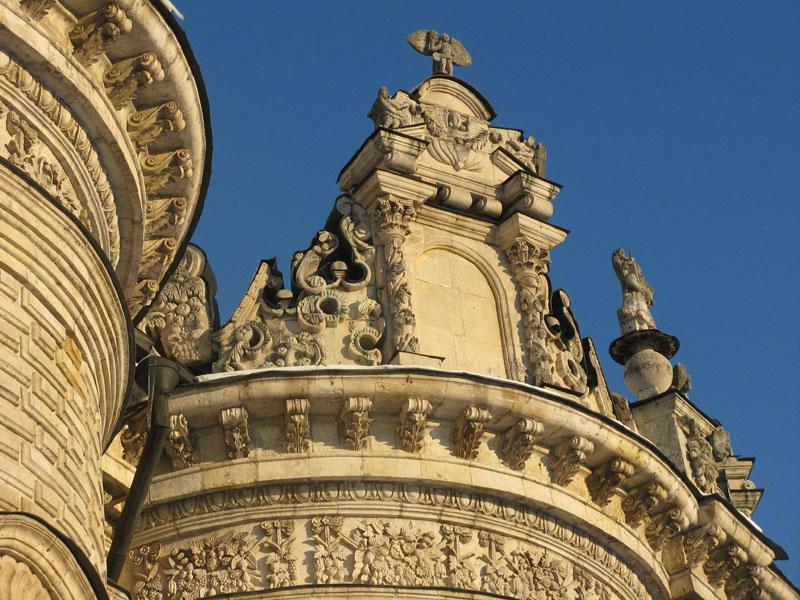Барочных храм в Дубровицах