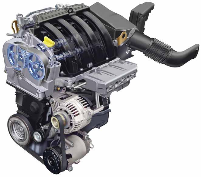 Новый 16-клапанный двигатель